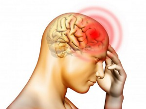 Как снять головную боль в области лба